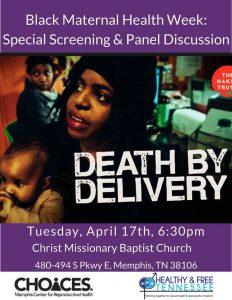 Special Screening in Honor of Black Maternal Health Week