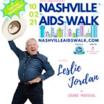 Announcing Leslie Jordan as Grand Marshal of the 30th Anniversary Nashville AIDS Walk